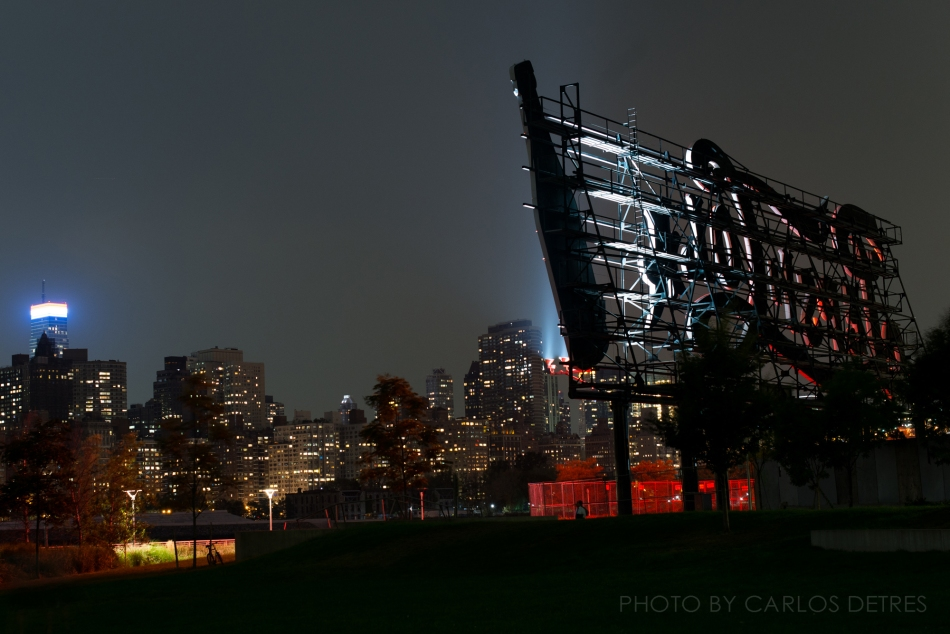 Behind the Pepsi Cola Sign in Long Island City